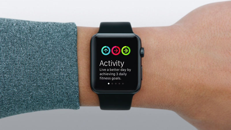 Back up an Apple Watch: fitness data for activities