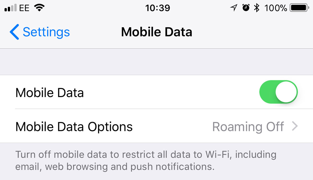 How to avoid data roaming charges on iPhone: Settings