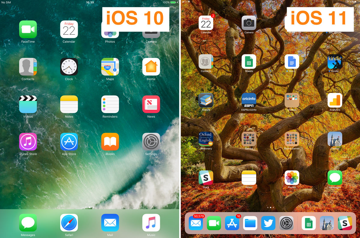 How to use the iPad dock in iOS 11: Differences from iOS 10