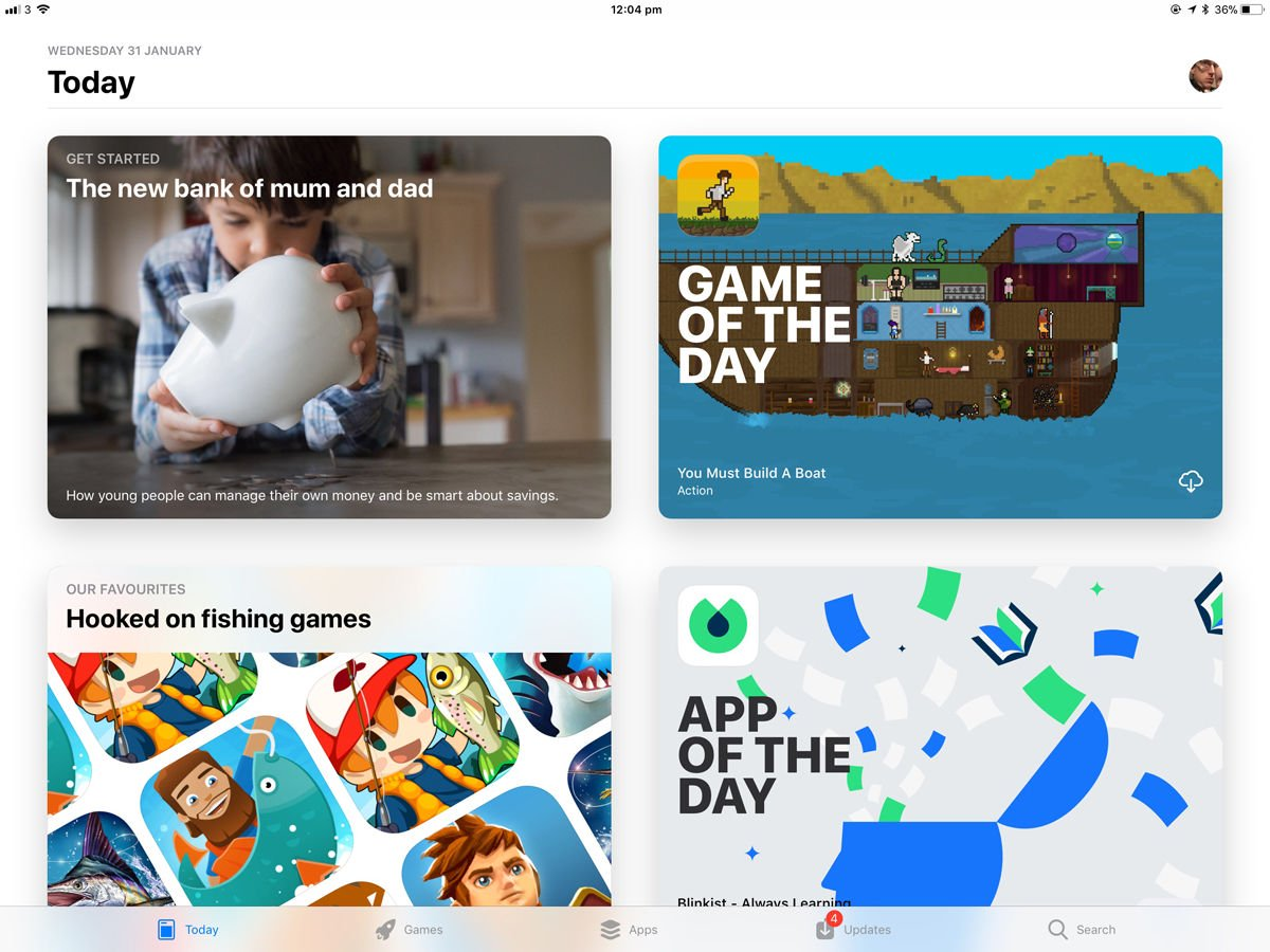 How to use an iPad: App Store