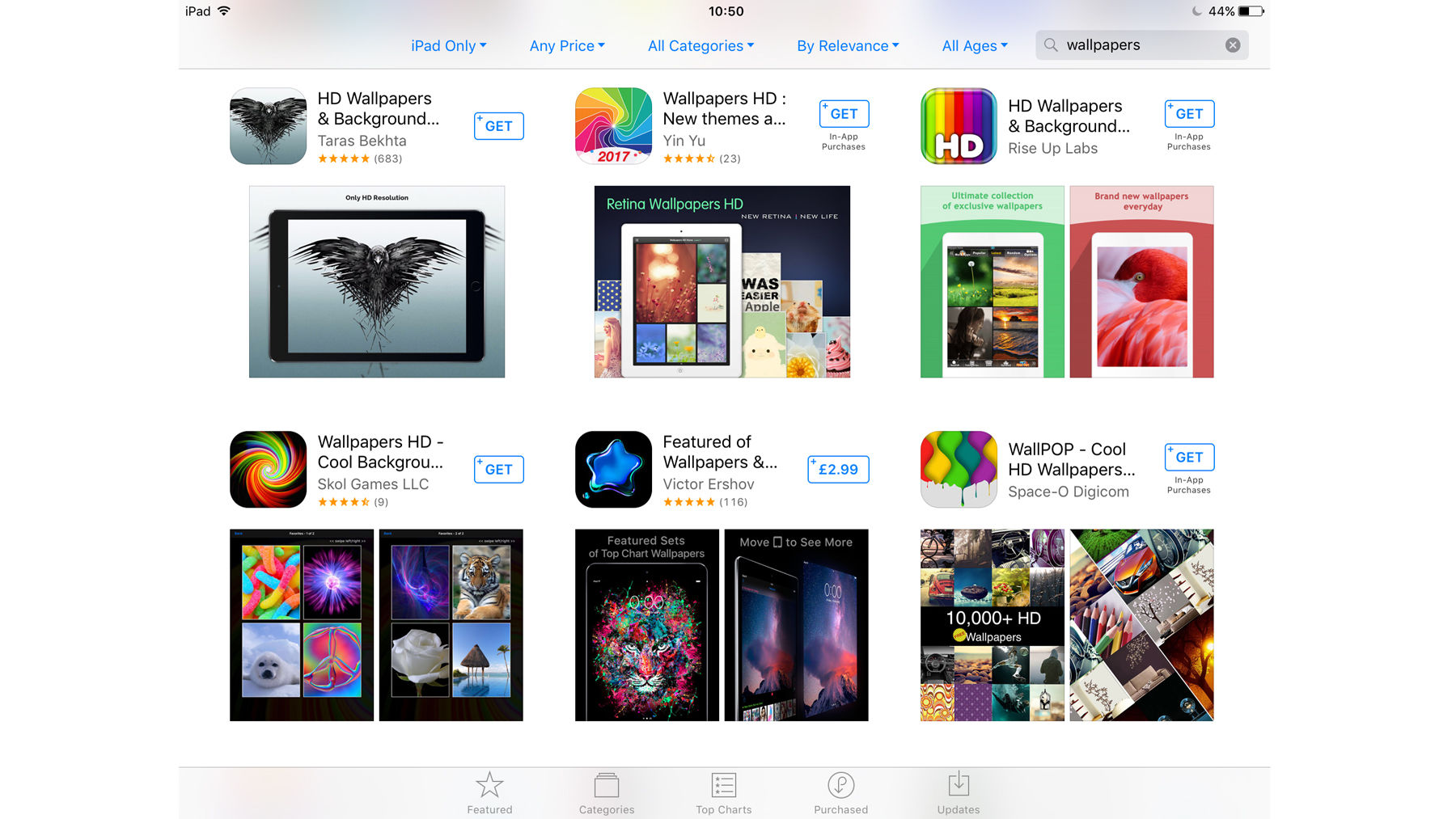 How to change the wallpaper on iPhone and iPad: Wallpaper apps
