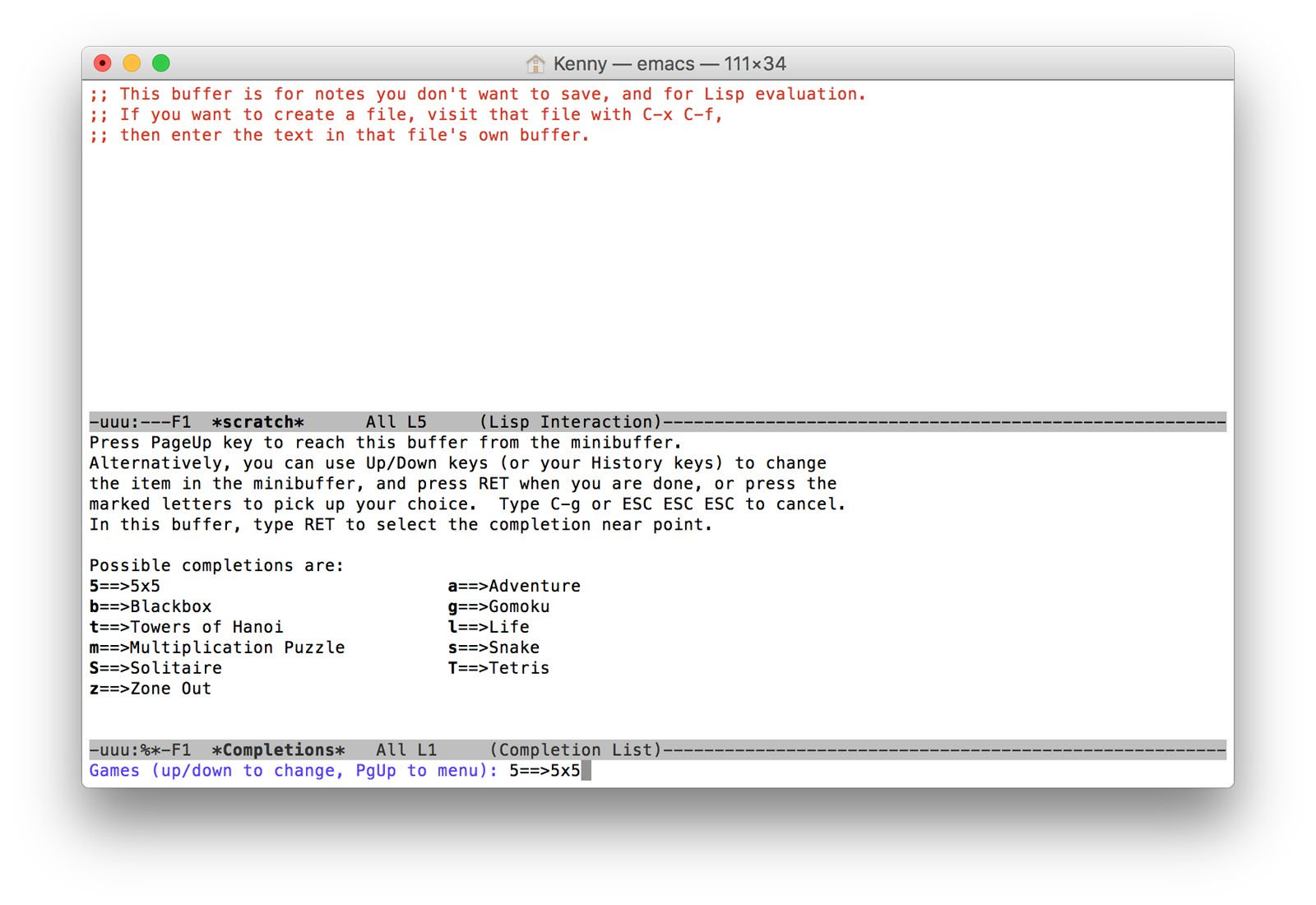 Terminal Tips, Tricks, and Projects for Mac: Play Games