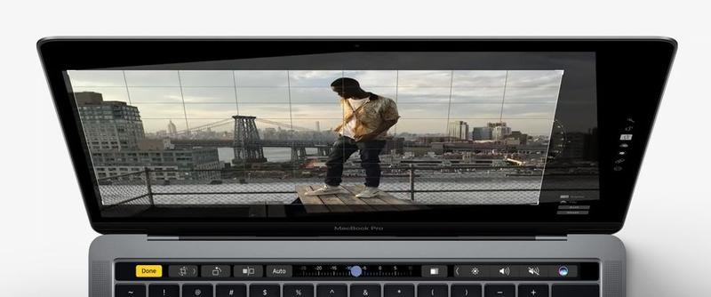Using Touch Bar on New MacBook Pro: Editing Photos