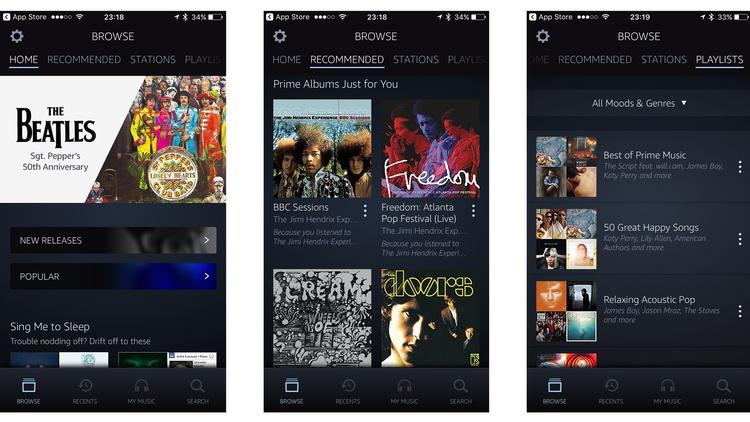 How to get free music on iPhone: Amazon Prime Music