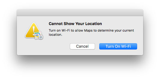 How to use Apple Maps on Mac: Can't find location