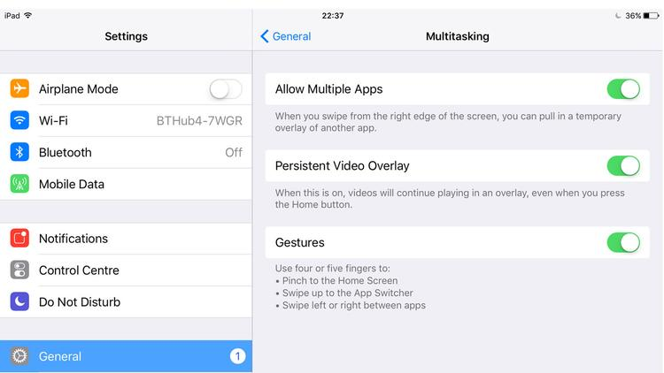 How to disable multitasking on iPhone and iPad