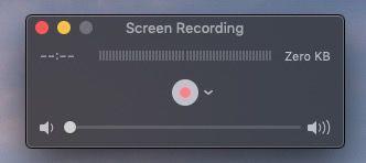 QuickTime recording YouTube