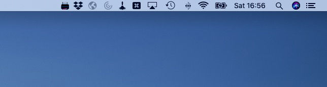 Add AirPrint to a non-AirPrint printer: Mac menu bar