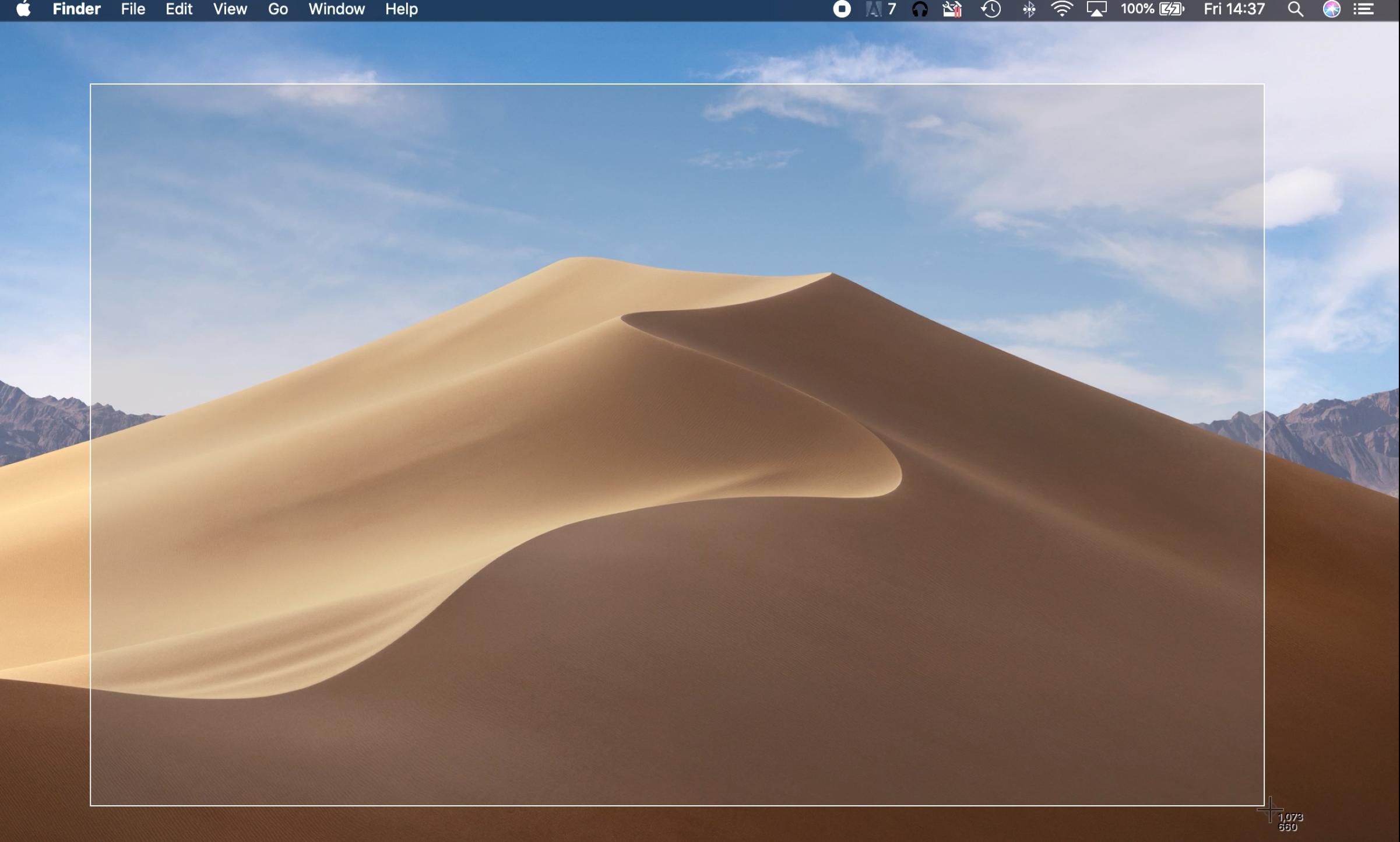 Take a screenshot of part of the screen