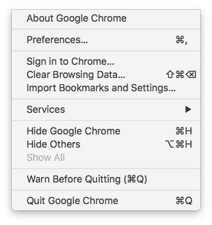 How to take a screenshot on Mac: Screenshot a drop-down menu