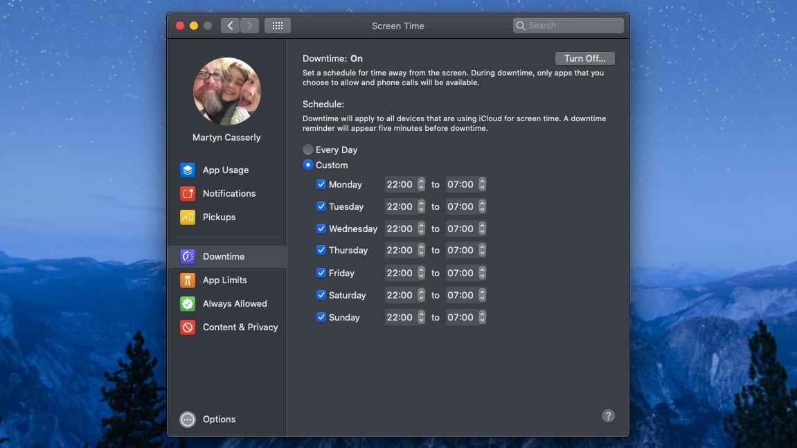 Set parental controls on Mac and MacBook: Screen time
