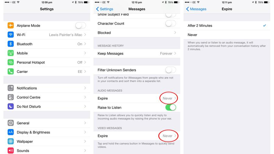 How to speed up a slow iPhone: voice messages