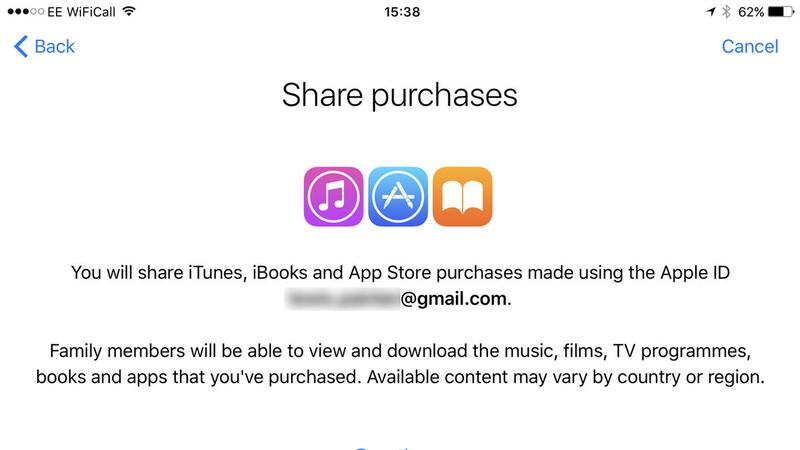 How to set up Family Sharing on iPhone: Share purchases