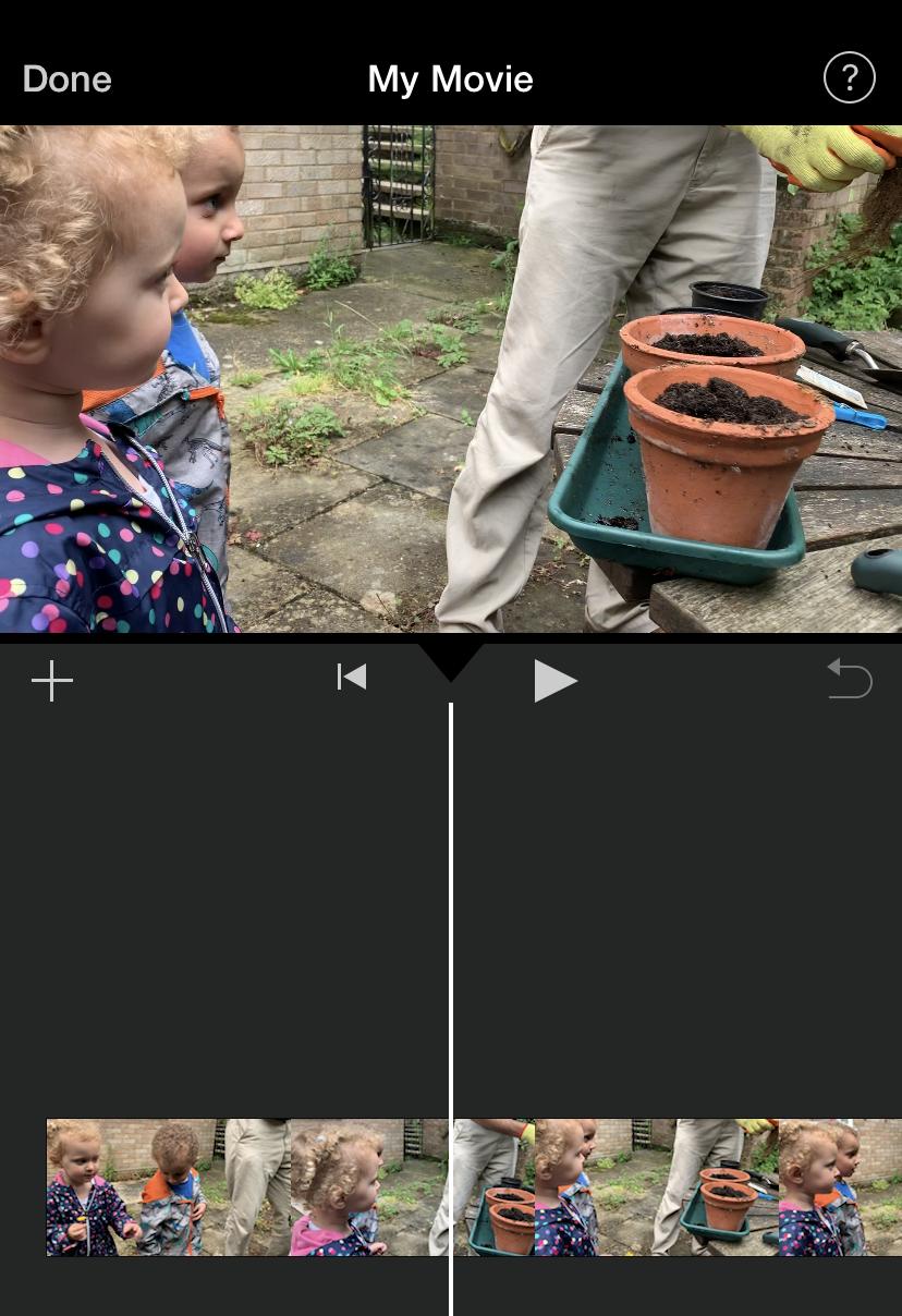 Edit iMovie
