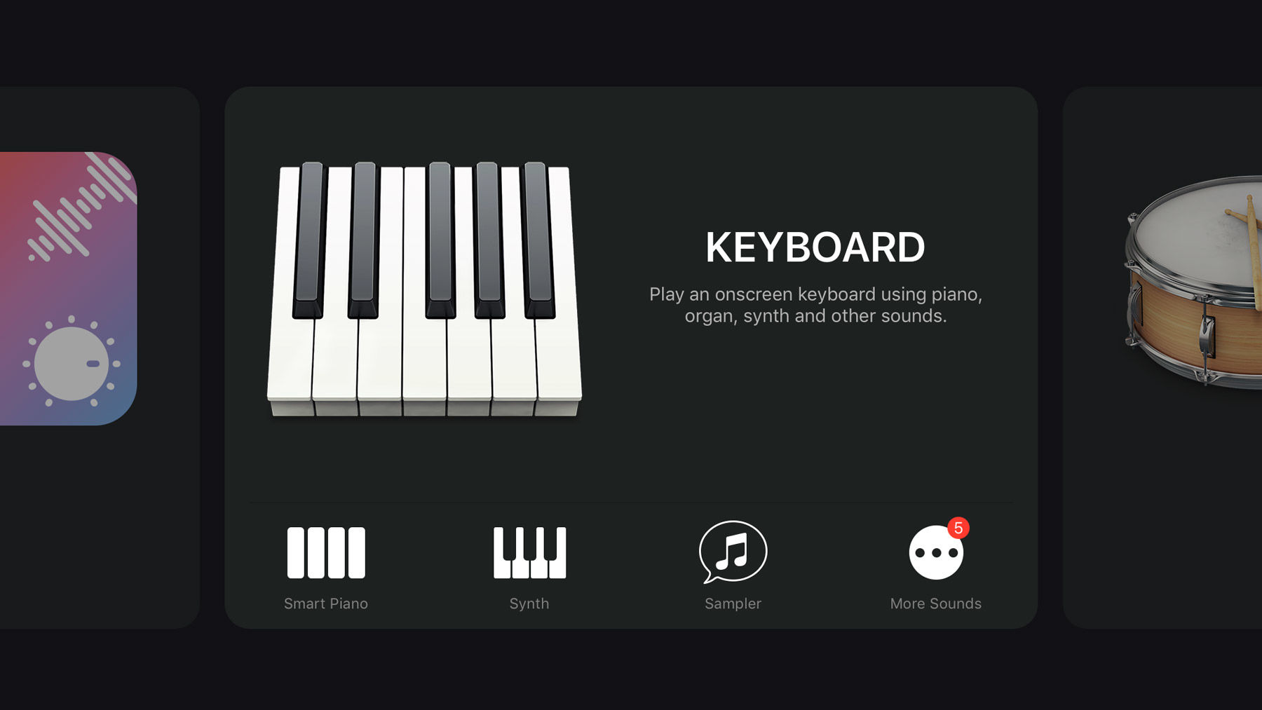 How to use GarageBand on iPhone and iPad: keyboards