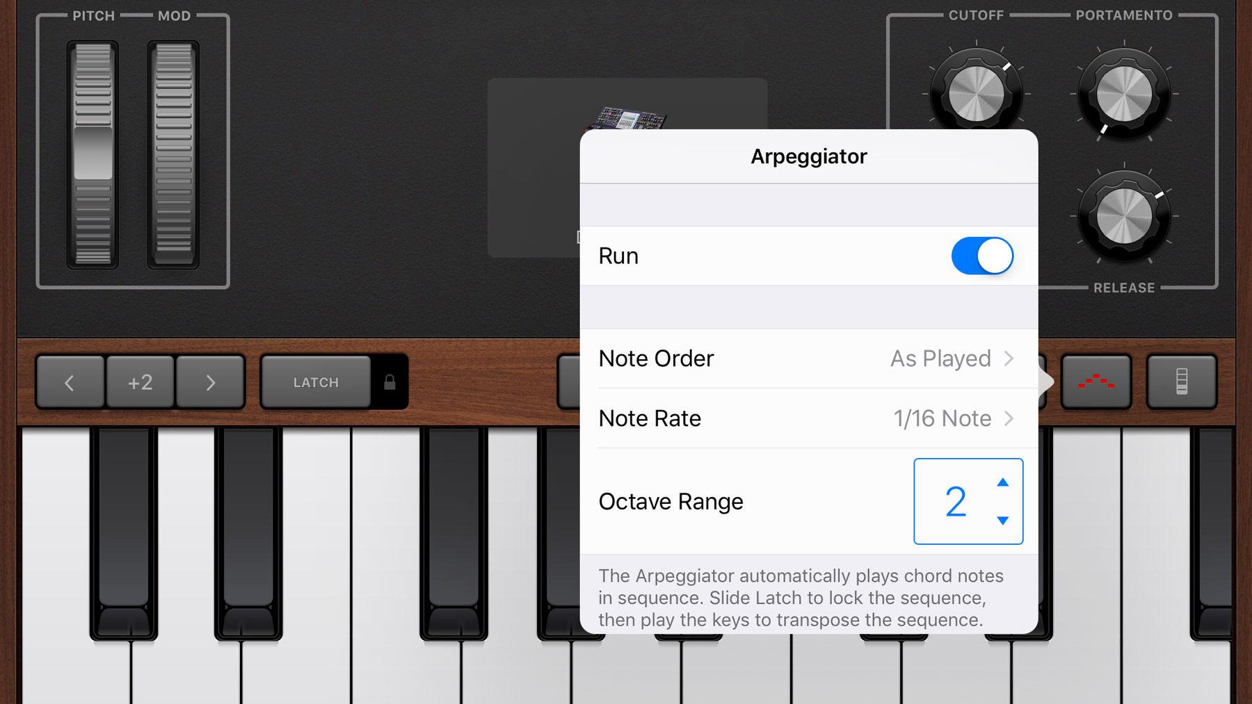 How to use GarageBand on iPhone and iPad: Arpeggiator