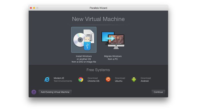 How to install Linux on a Mac: Parallels desktop