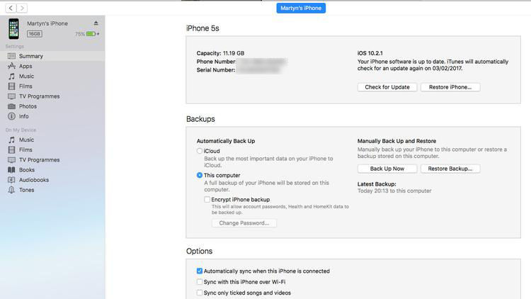 How to restore an iPhone or iPad from a backup: iTunes