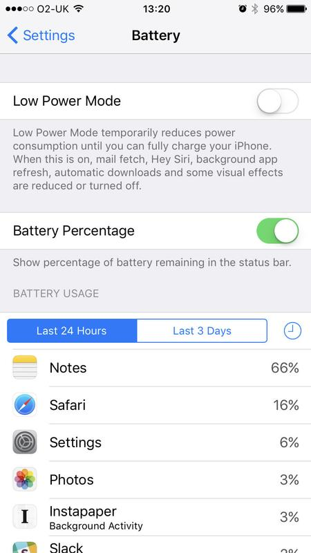 Tips for troubleshooting iOS 10: Low Power mode