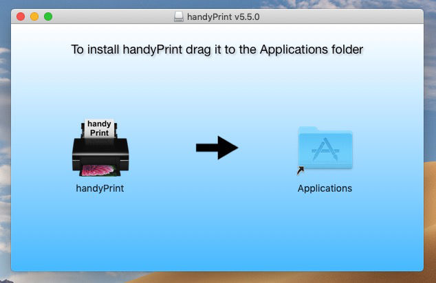 Add AirPrint to a non-AirPrint printer: Drag to Applications