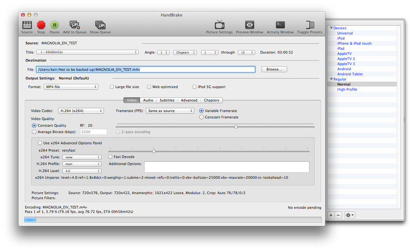 How to rip a DVD or Blu-ray disc to Mac: HandBrake