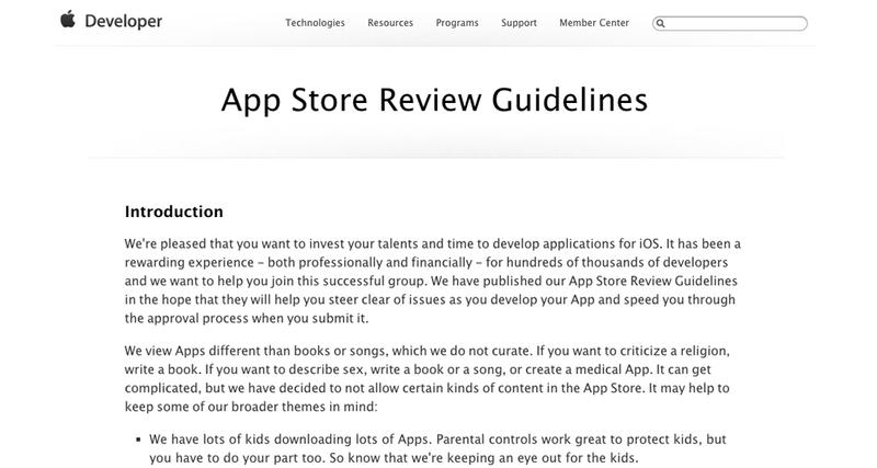 How do I sell my app: Have your app approved by Apple
