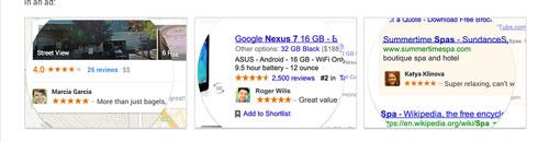 Google's Shared Endorsements
