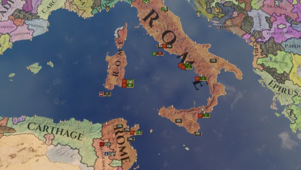 Imperator: Rome Review