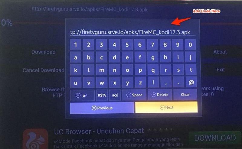 download firemc on firestick