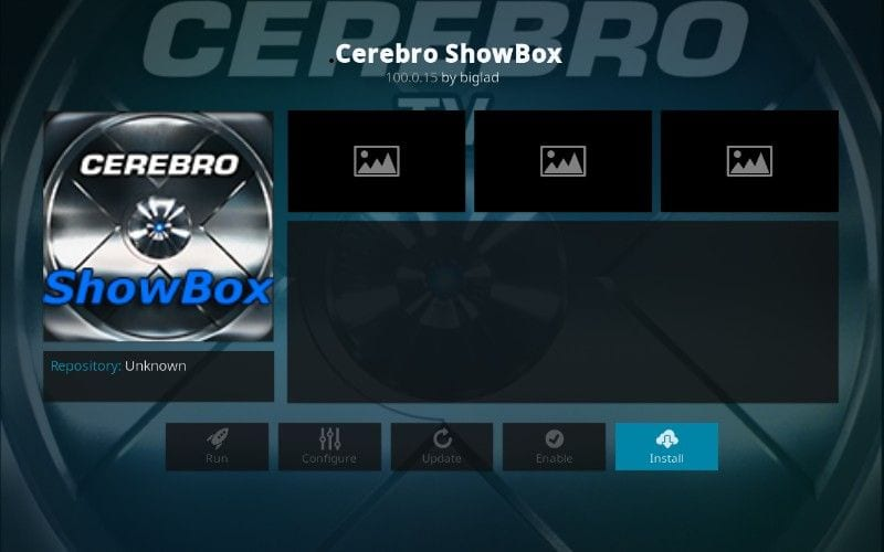 how to install the cerebro showbox kodi add-on