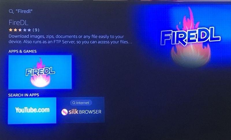installing fire tv guru on firestick with firedl apk