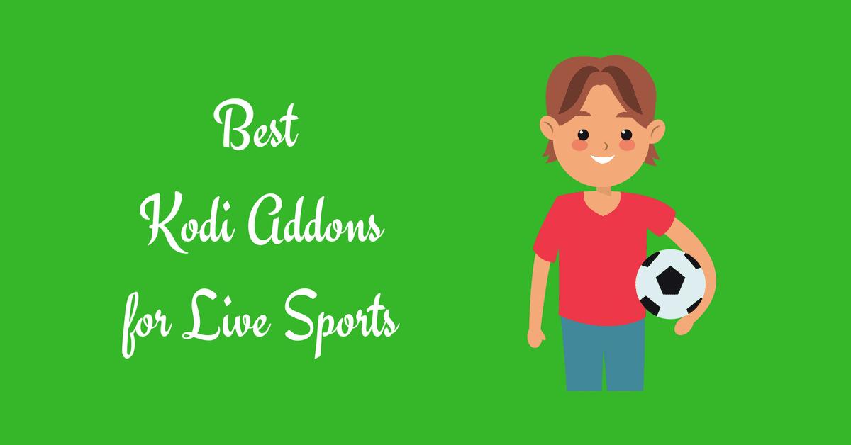 best kodi addons for live sports