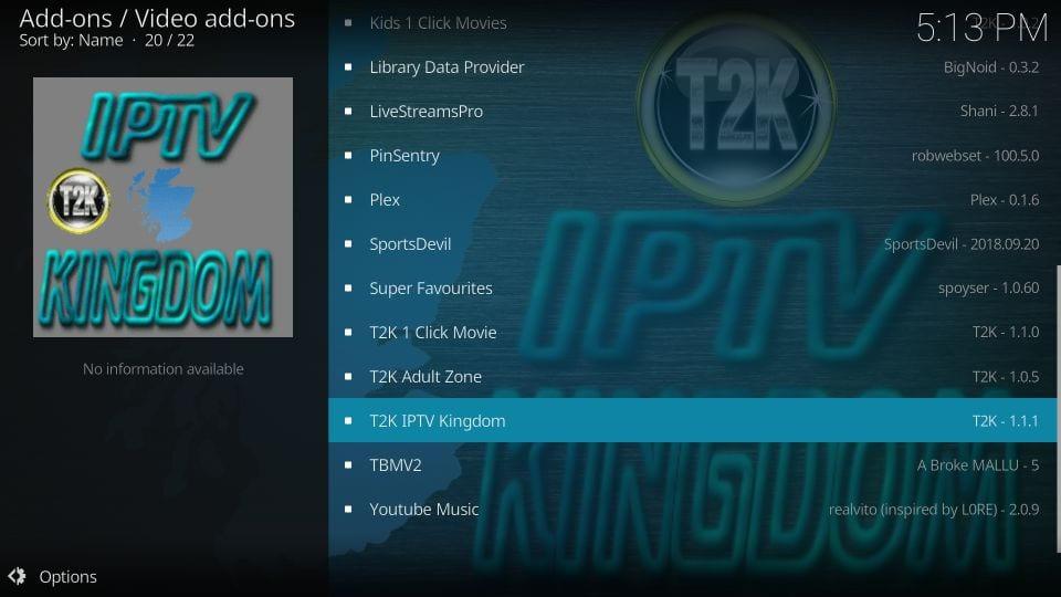 kodi t2k iptv kingdom