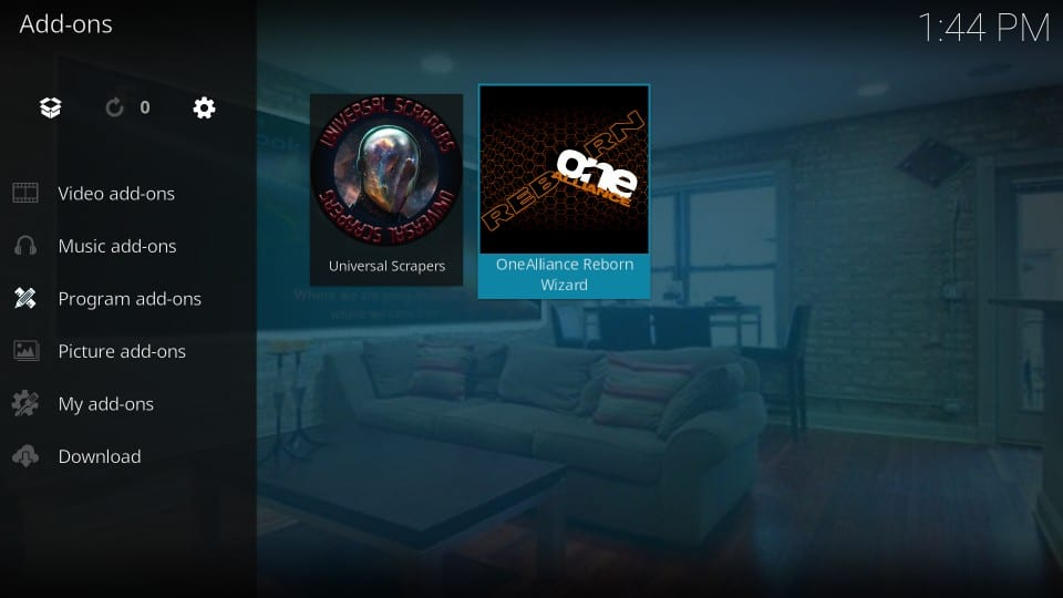 how to    install One Alliance Reborn kodi build