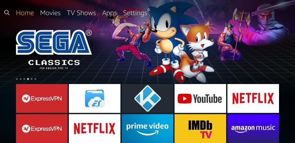how to    get gears TV reloaded on amazon Firestick