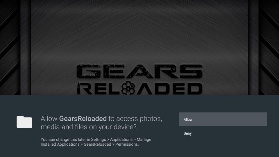 gears TV reload channels