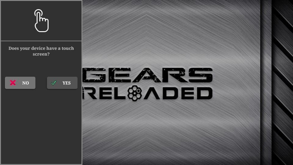 steps to reinstall gear TV reloaded