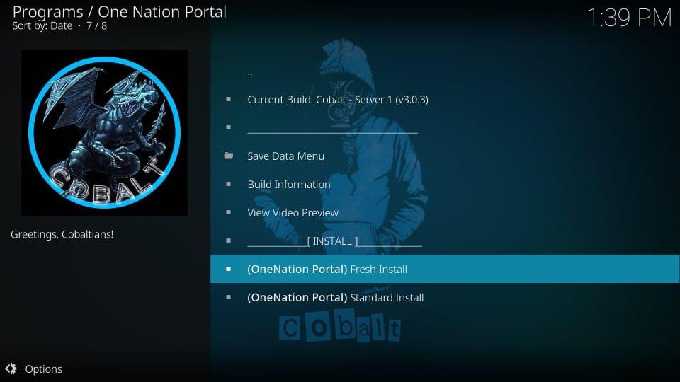 kodi builds a nation portal