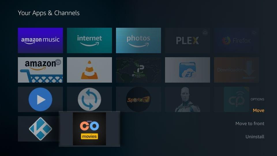 how to    use cotomovies on firestick