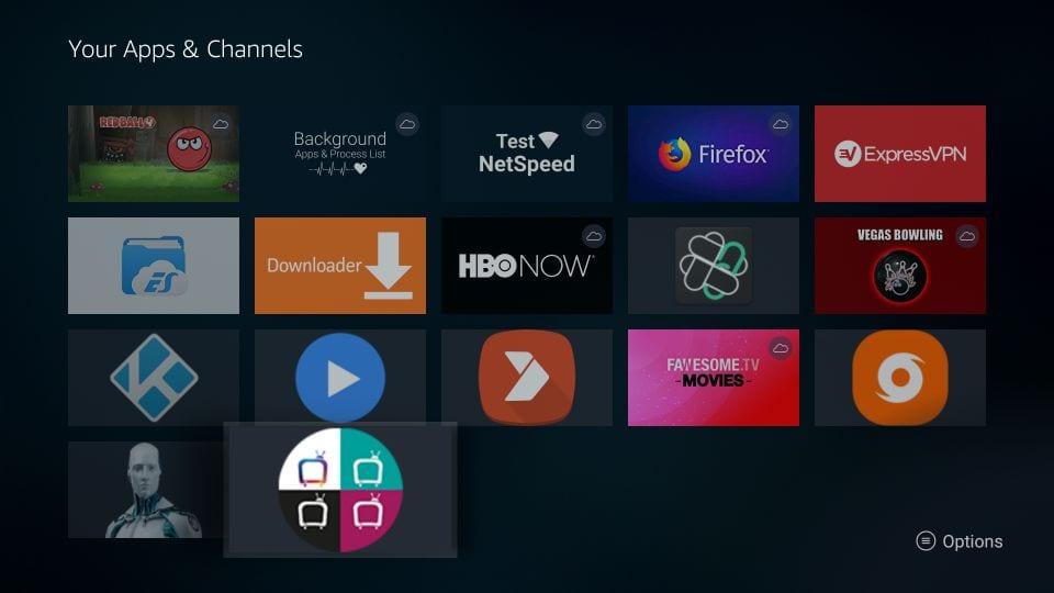 how to    get helix TV iptv on amazon Firestick