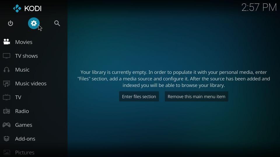 Helix TV addon for kodi