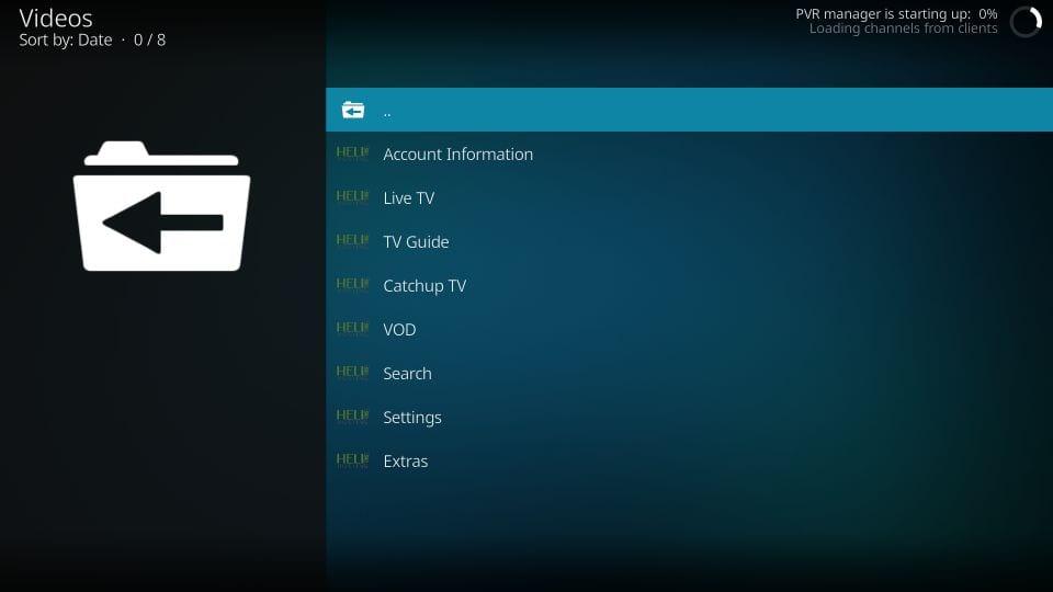 Steps to install helix TV addon on kodi