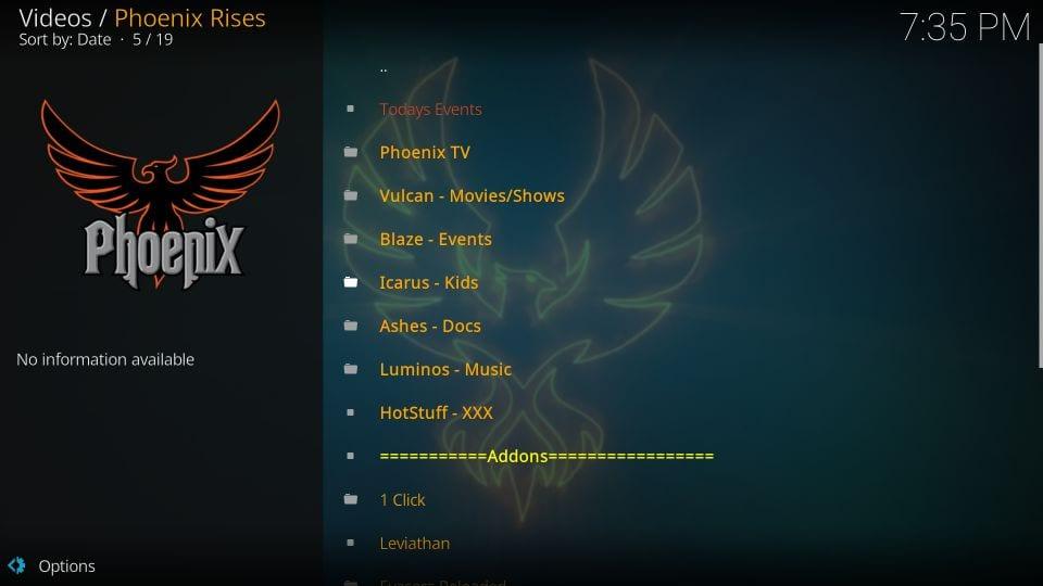 Turn off phoenix takes-off metadata addon