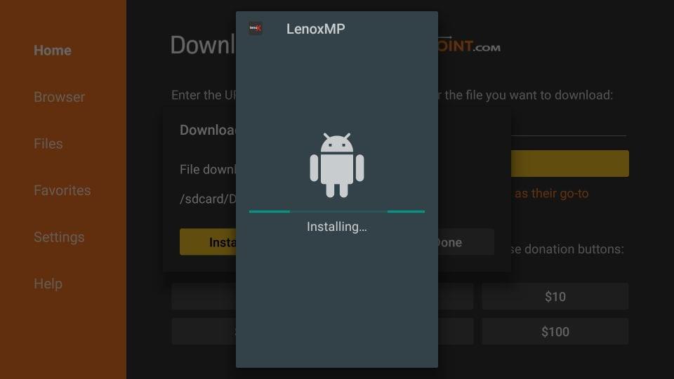 ping iptv firestick app