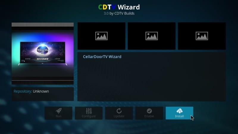 install cdtv wizard kodi builds