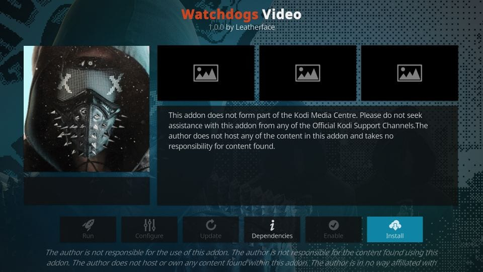 how to    install guard dogs addon on kodi