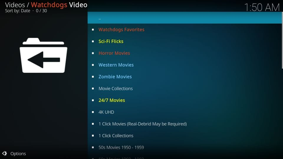kodi watchdogs addon