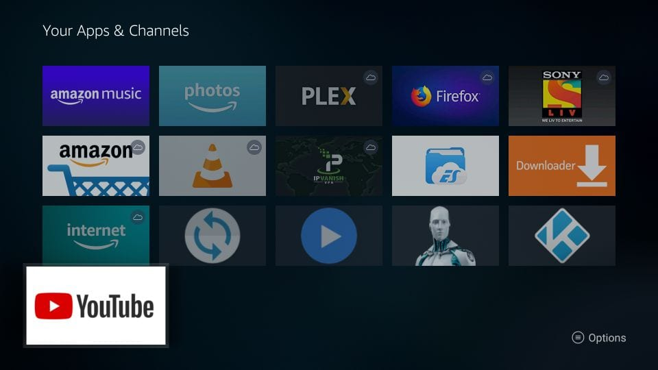 download youtube on firestick