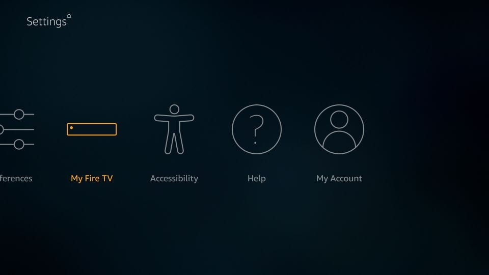 my fire TV settings