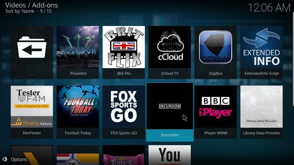 step by step guide Op how to use kodi